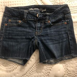 American Eagle 00 denim shorts